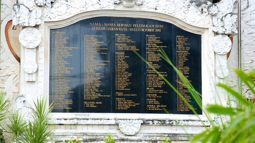 Bali Blast Monument featuring a memorial, a monument and signage