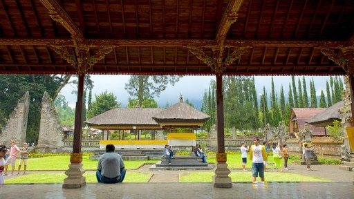 Ulun Danu Temple which includes religious aspects and a temple or place of worship