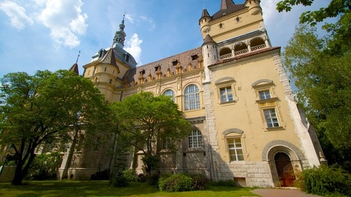 Vajdahunyad Castle showing chateau or palace and heritage architecture