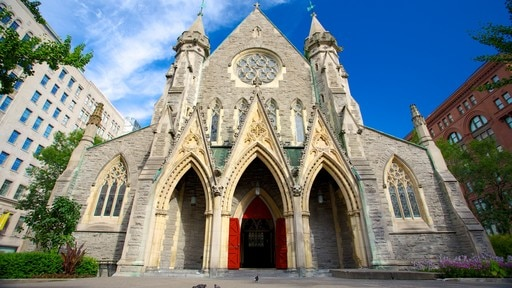 Christ Church Cathedral featuring a city, a church or cathedral and religious aspects