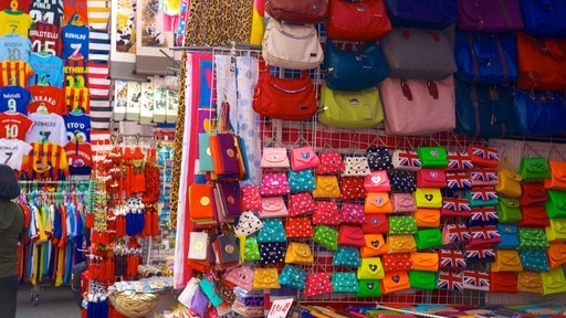 Ladies\' Market showing markets