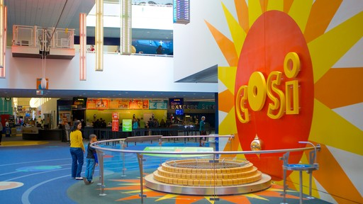 COSI showing interior views and signage