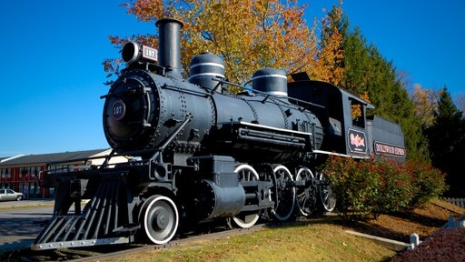 Dollywood which includes rides and railway items