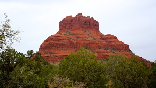 Bell Rock featuring a gorge or canyon and tranquil scenes