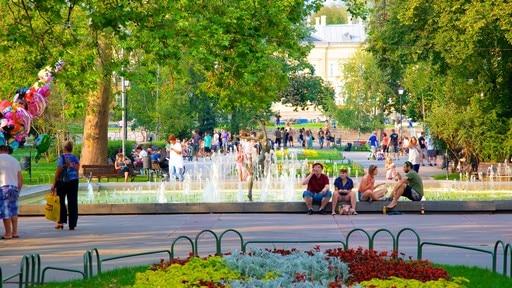바텐베르그 광장의 알렉산더 왕자