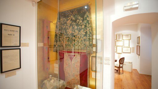 Dubrovnik Synagogue showing interior views