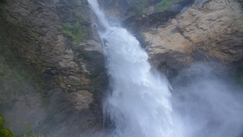 Reichenbach Falls which includes a waterfall