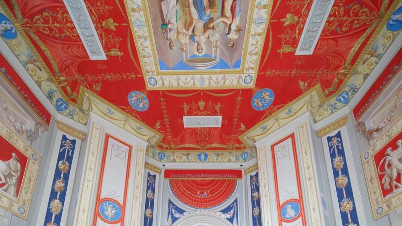 Catherine Palace and Park in Tsarskoye Selo