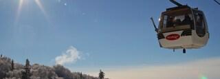 Mont-Tremblant Ski Resort featuring a gondola