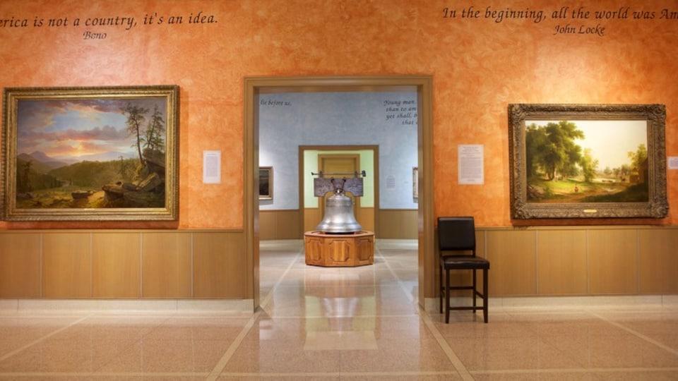 R.W. Norton Art Gallery featuring interior views