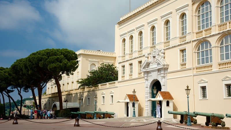 Prince\'s Palace which includes heritage architecture, heritage elements and a castle