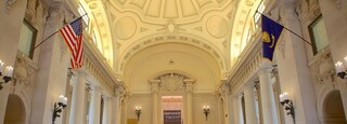 U.S. Naval Academy which includes military items, interior views and heritage architecture
