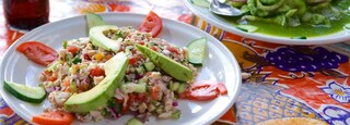 Sayulita which includes food