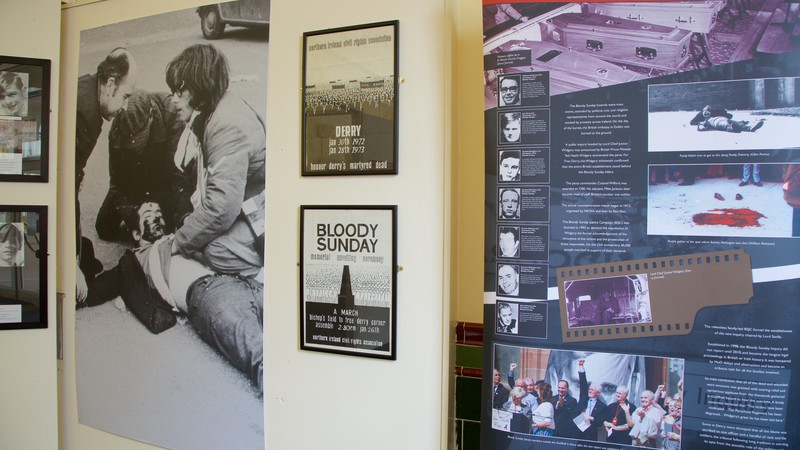 Museum of Free Derry e Bloody Sunday Memorial Museo commemorativo)