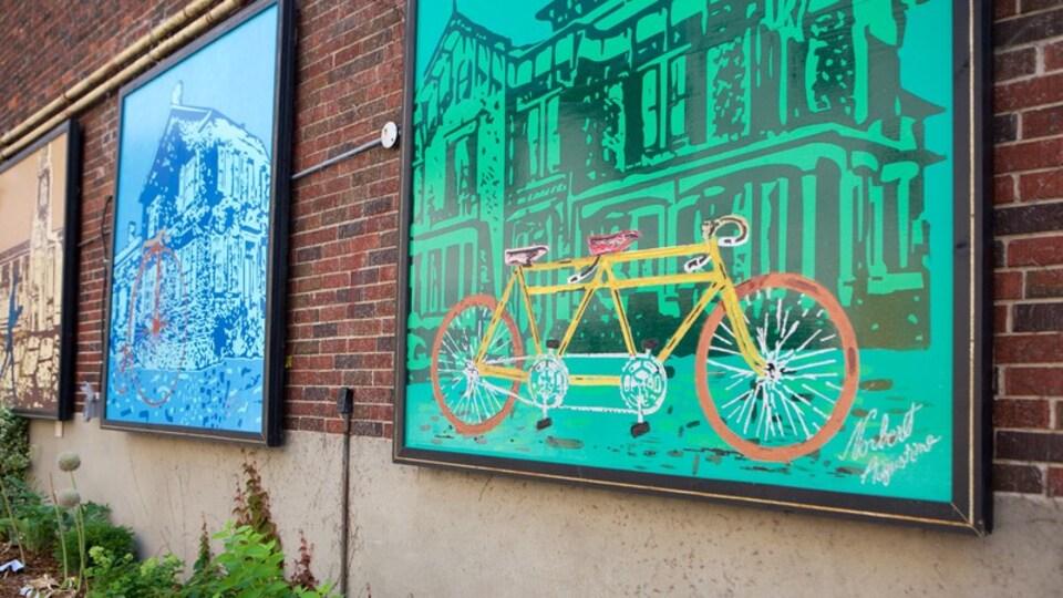 Brampton featuring outdoor art