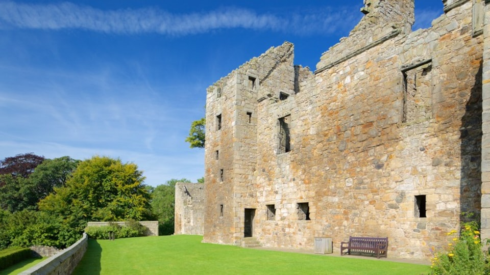 Aberdour Castle featuring a castle and heritage elements