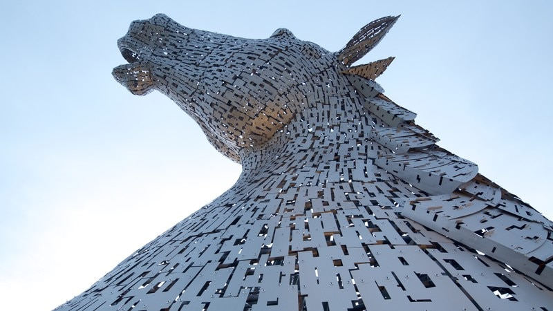 Sculptures The Kelpies