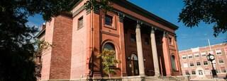 Anaconda showing heritage architecture