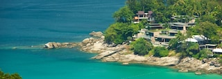 Phuket - Phang Nga featuring a bay or harbor, a coastal town and rocky coastline