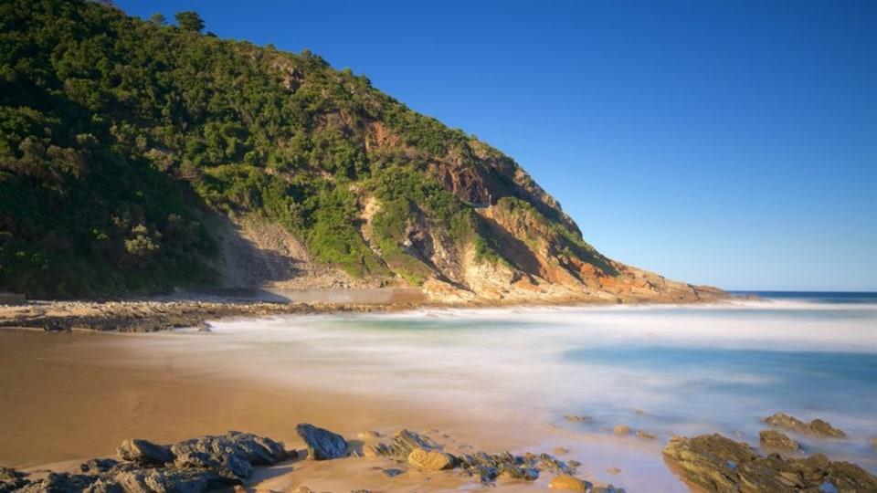 Victoria Bay Beach featuring a beach, landscape views and rugged coastline