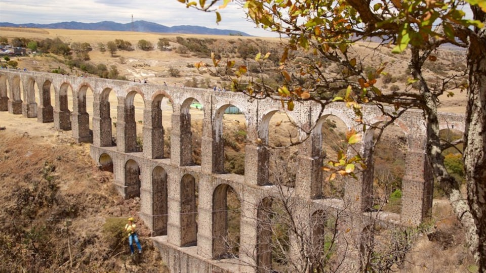 Arcos Del Sitio featuring a bridge, heritage architecture and desert views