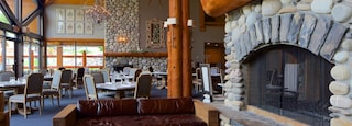 Fernie Alpine Resort featuring interior views and dining out