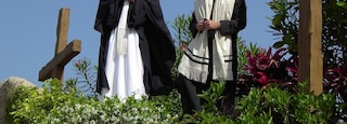 Holy Land Experience which includes religious elements as well as a small group of people