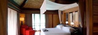 Bora Bora featuring a luxury hotel or resort and interior views