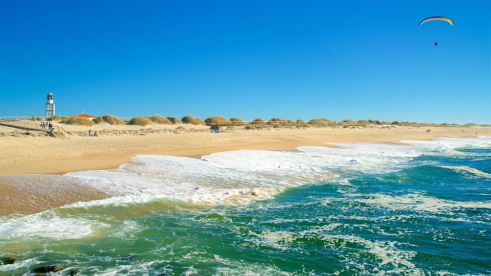 Costa Nova Beach showing a beach and general coastal views