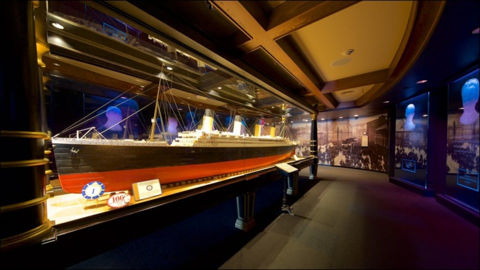 Titanic Museum which includes heritage elements and interior views