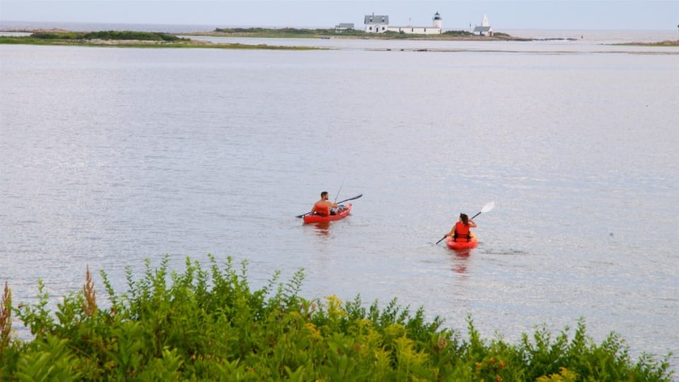 Cape Porpoise featuring kayaking or canoeing and a lake or waterhole as well as a couple