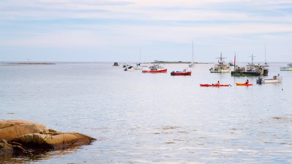 Cape Porpoise which includes general coastal views and a bay or harbor
