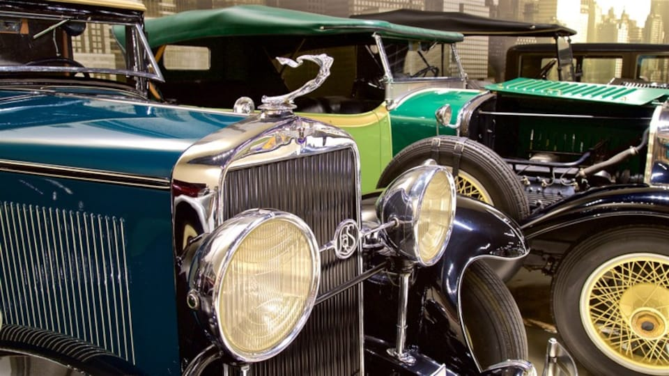 Classic Car Collection which includes interior views and heritage elements