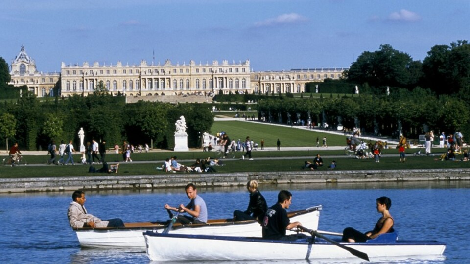 Versailles featuring kayaking or canoeing, landscape views and a river or creek