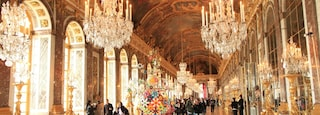 Versailles which includes interior views
