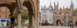 Peterborough which includes heritage elements