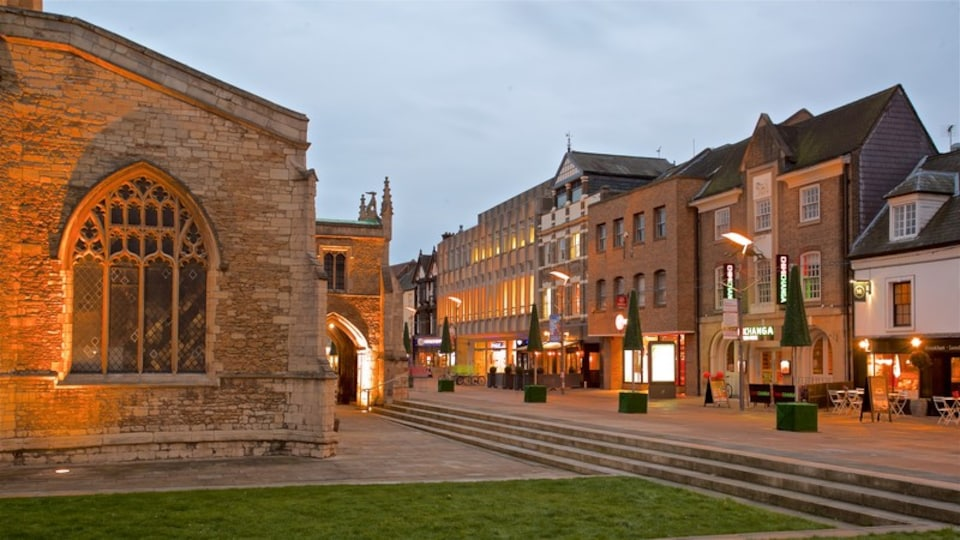 Peterborough showing heritage elements