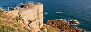 Jersey which includes landscape views, views and rocky coastline