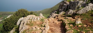 Mount Arbel showing general coastal views