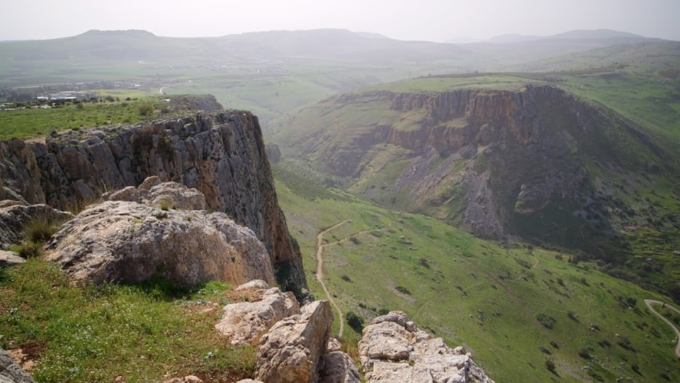Mount Arbel which includes landscape views and tranquil scenes