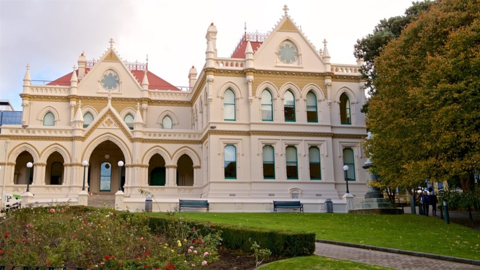 Parliamentary Library showing heritage architecture