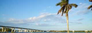 Royal Palm Pointe Park featuring a park and a river or creek