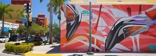 Fort Lauderdale showing outdoor art