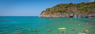 San Francesco Beach featuring tropical scenes, general coastal views and swimming