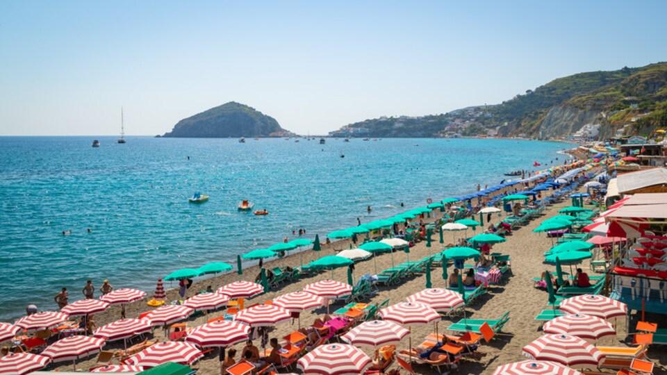 Maronti Beach featuring a beach and general coastal views