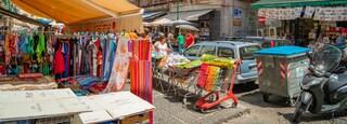 Secondigliano featuring markets