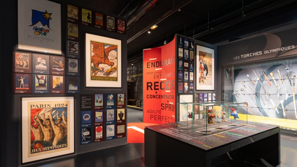 National Sport Museum featuring interior views and art
