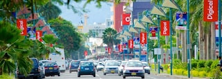Suva featuring a city and street scenes