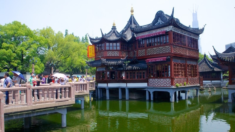 Historic buildings pictures: View images of Yu Yuan Garden