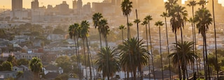 Los Angeles featuring landscape views, a city and a sunset
